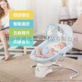 洛贝依 婴儿摇椅 电动摇篮摇摇金属安抚椅 儿童电动摇椅哄娃神器哄睡摇床