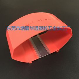大型亚克力红色挤出灯罩 pmma挤出型材