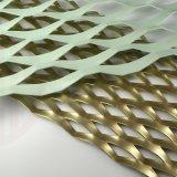 鋁板裝飾材料  鋼鋁板網 外牆幕牆鋁拉網