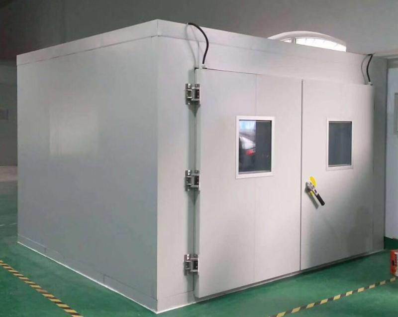 【动力电池温度冲击试验室】电池步入式快速温变实验室厂家供应