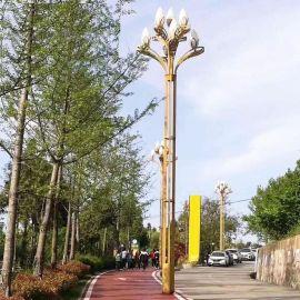 AE照明AE-ZHD-01 中華燈玉蘭燈廠家定制道路照明景觀路燈中華燈 廣場12米中華燈景觀燈