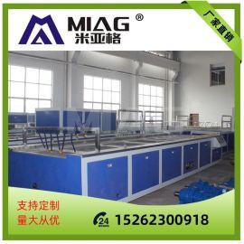 江苏厂家直销塑料挤出生产线 PVC双管挤出机生产设备