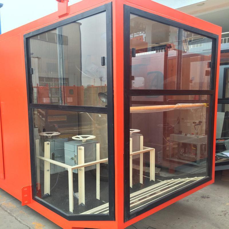 1.4*1.6司机室外壳 优质钢化玻璃司机室操作室