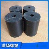 橡膠減震器 圓柱形橡膠緩衝墊塊 橡膠緩衝減震彈簧