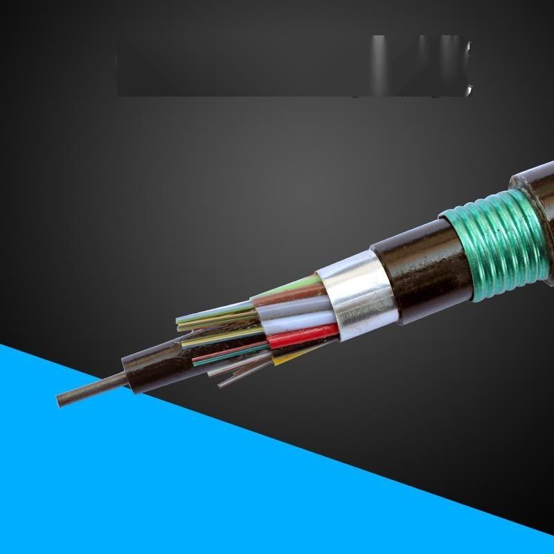 GYTA53直埋铠装光缆 双护套双铠室外层绞式4-144芯单模光缆