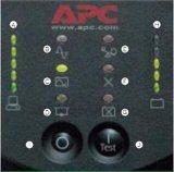 APC SURT1000XLICH 1KVA/800W内置电池UPS电源 Smart-UPS RT1000