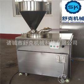 舒克供应肉糜火腿肠加工机械 肉粒肠生产设备 成套台烤设备批发