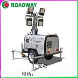 1000*4KW液壓照明車RWZM61C,拖車式照明車路得威廠家照明燈車