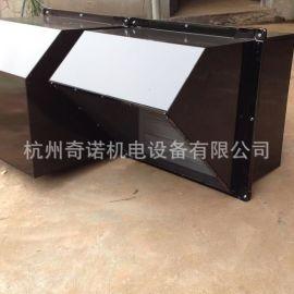 供应WEXD-550型方形90度防雨罩壁式排风机