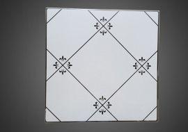 环保厂家铝天花集成吊顶铝扣板冲孔铝扣板工程装饰材料