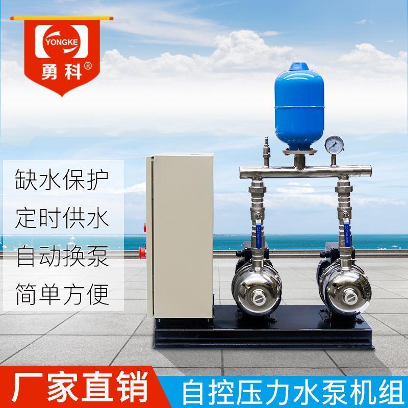 雙泵自動控制切壓力流量 智慧缺水保護水泵機組