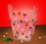 塑料磨砂PP包裝膠盒,糖果包裝盒