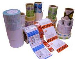 热敏纸不干胶标签,热敏纸标签,卷装标签,空白标签,彩印标签