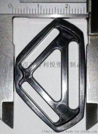 塑胶三角分叉扣调节扣适合20MM织带