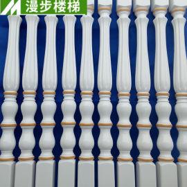 厂家供应家用式实木楼梯 实木楼梯扶手立柱