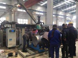 不锈钢、碳钢压力容器直环缝深熔焊机