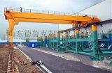 MB型10t电动葫芦半门式起重机生产厂家/行车 天车/门吊 龙门吊 半门吊