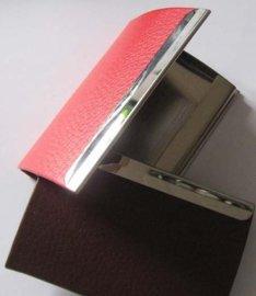 香港**名片盒厂家直销不锈钢名片盒定做皮质名片盒