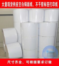 现货供应铜版纸|热敏纸|哑银龙|消银龙|合成纸|书写纸|pet|透明龙|不干胶标签