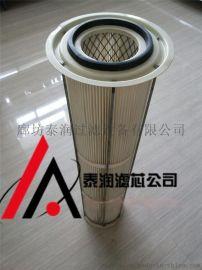 除尘滤筒滤芯配件-端盖-滤网覆膜滤布