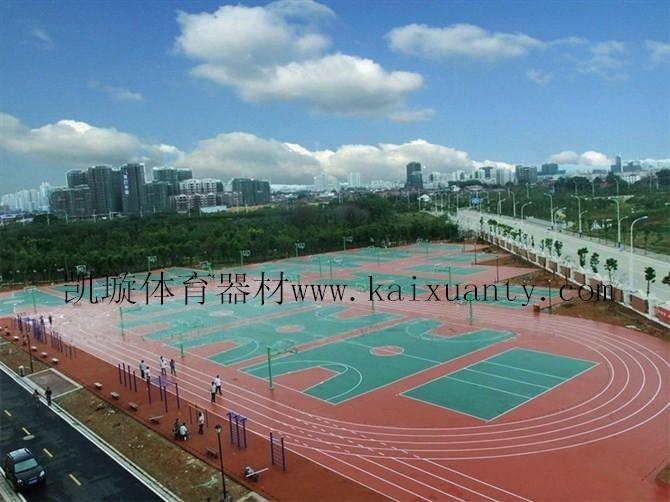 供应凯璇深圳**酸球场价格惠州标准篮球场