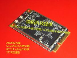 AR9582/AR9280/AR9283几款2T2R工业级PCIe接口无线网卡