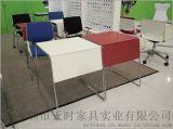 簡約辦公傢俱時尚鋼架培訓桌
