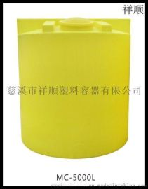 5000L耐酸碱耐腐搅拌罐 5吨洗洁精桶 水处理加药桶 外加剂储桶