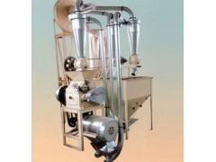 中科专利绿色环保型自动上料莜麦炒籽磨面机