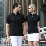 高尔夫棒球场运动服务员人员工作服短袖T恤企业广告文化DIY衫工装