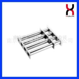 磁铁厂供应钕铁硼磁棒 强磁除铁棒 注塑机强力磁力架 高强磁力架