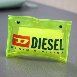 工廠定製透明糖果筆袋 新款熒光學生pvc防水大容量收納化妝洗漱包