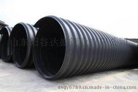 HDPE钢带增强螺旋波纹管质优价廉