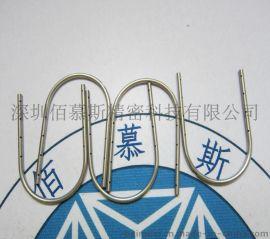 精密管件加工 医用不锈钢毛细管打孔 开槽 折弯