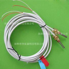 進口熱電偶、熱電阻PT100 全四氟鐵氟龍 溫度感測器 防腐耐磨