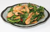韭菜炒河蝦-皖香客大食堂中式快餐連鎖