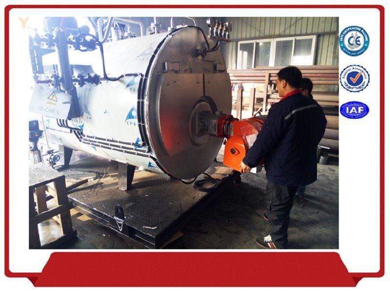 節能蒸汽鍋爐 1T臥式燃氣蒸汽鍋爐 工業蒸汽鍋爐