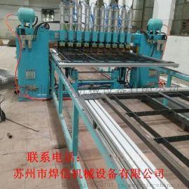中频丝网自动龙门排焊机大型不锈钢网片焊网机