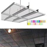 室内勾搭式铝板拉伸网吊顶 氟碳铝板网定做