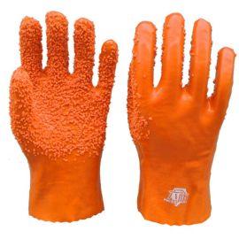 顺兴批发 pvc劳保手套 防滑 耐磨 作业手套 棉布内衬手掌颗粒28cm