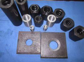 PSB930精轧螺纹钢及配套锚具厂家直销免费切割分条