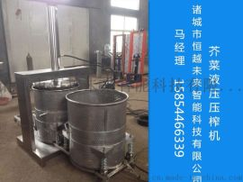 恒越未来HYWL-500L洋葱汁榨汁机,白菜压榨机,果蔬压榨脱水机