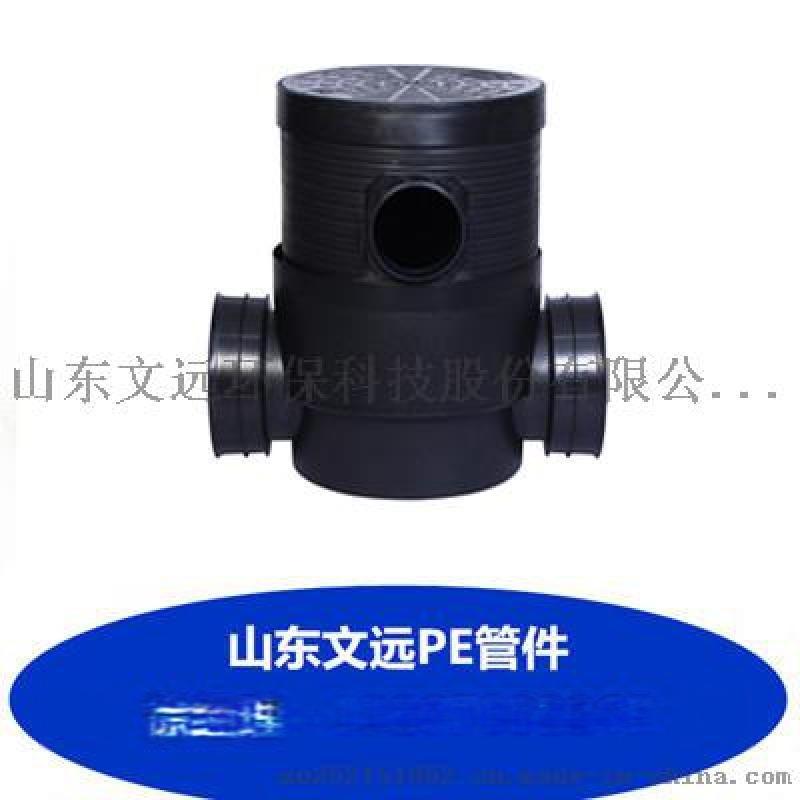 承德塑料檢查井廠家/滄州塑料檢查井配件馬鞍接頭供應