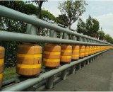 旋转式防撞护栏滚筒式防撞护栏旋转式安全护栏