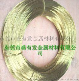 盛有发供应C3604环保黄铜线