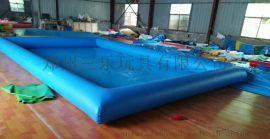 郑州三乐玩具厂钻研开发新型儿童充气沙滩池