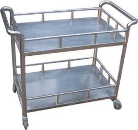厂家定做不锈钢医用手推车物流平板车尺寸可定做