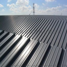 厂家直销提供安装65-430型铝镁锰金属屋面板