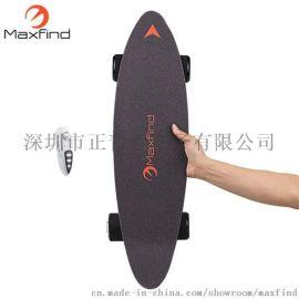 Maxfind无线遥控电动滑板车成人四轮代步车包邮