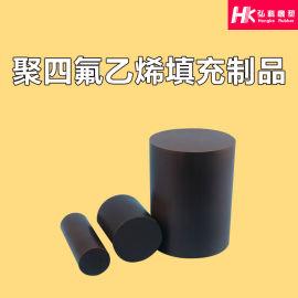 黑色四氟棒石墨填充棒黑色PTFE黑色改性棒